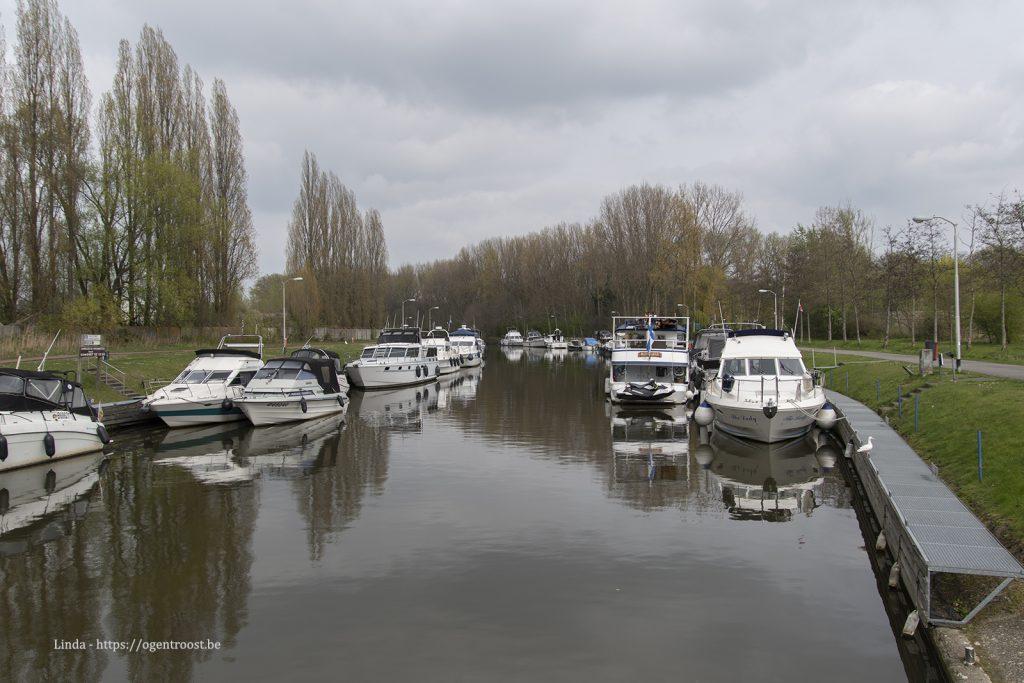 Jachthaven Merelbeke aan het Liedermeerspark