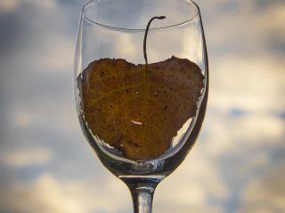 Herfst in een glas